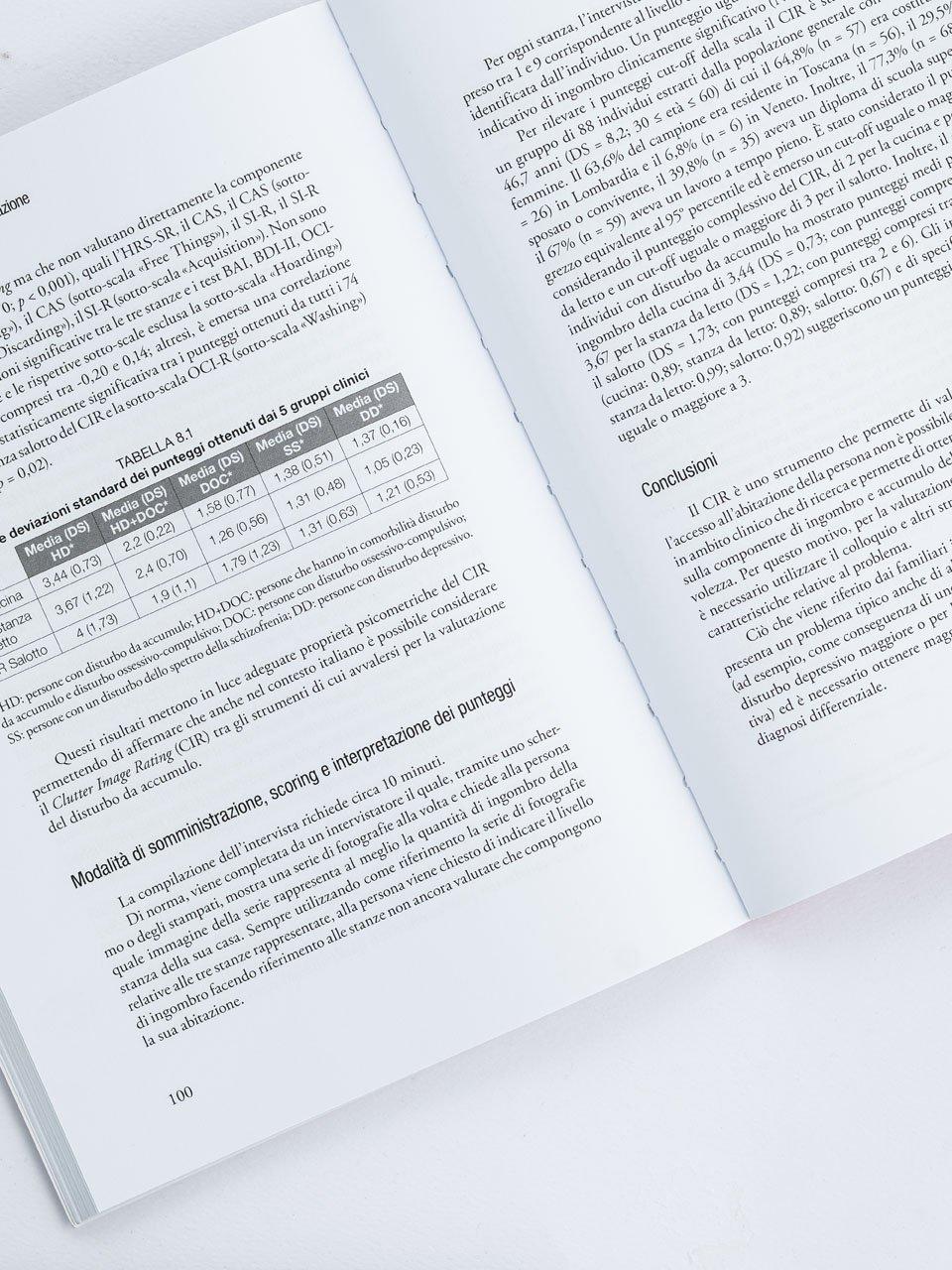 Il disturbo da accumulo e la sua valutazione - Libri - Erickson 2