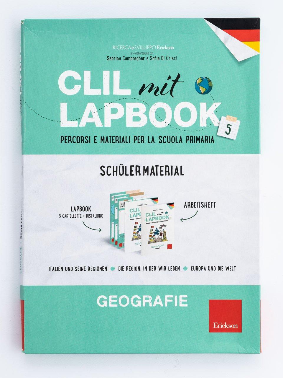CLIL mit LAPBOOK - Geografie - Classe quinta - Libri - Erickson 5