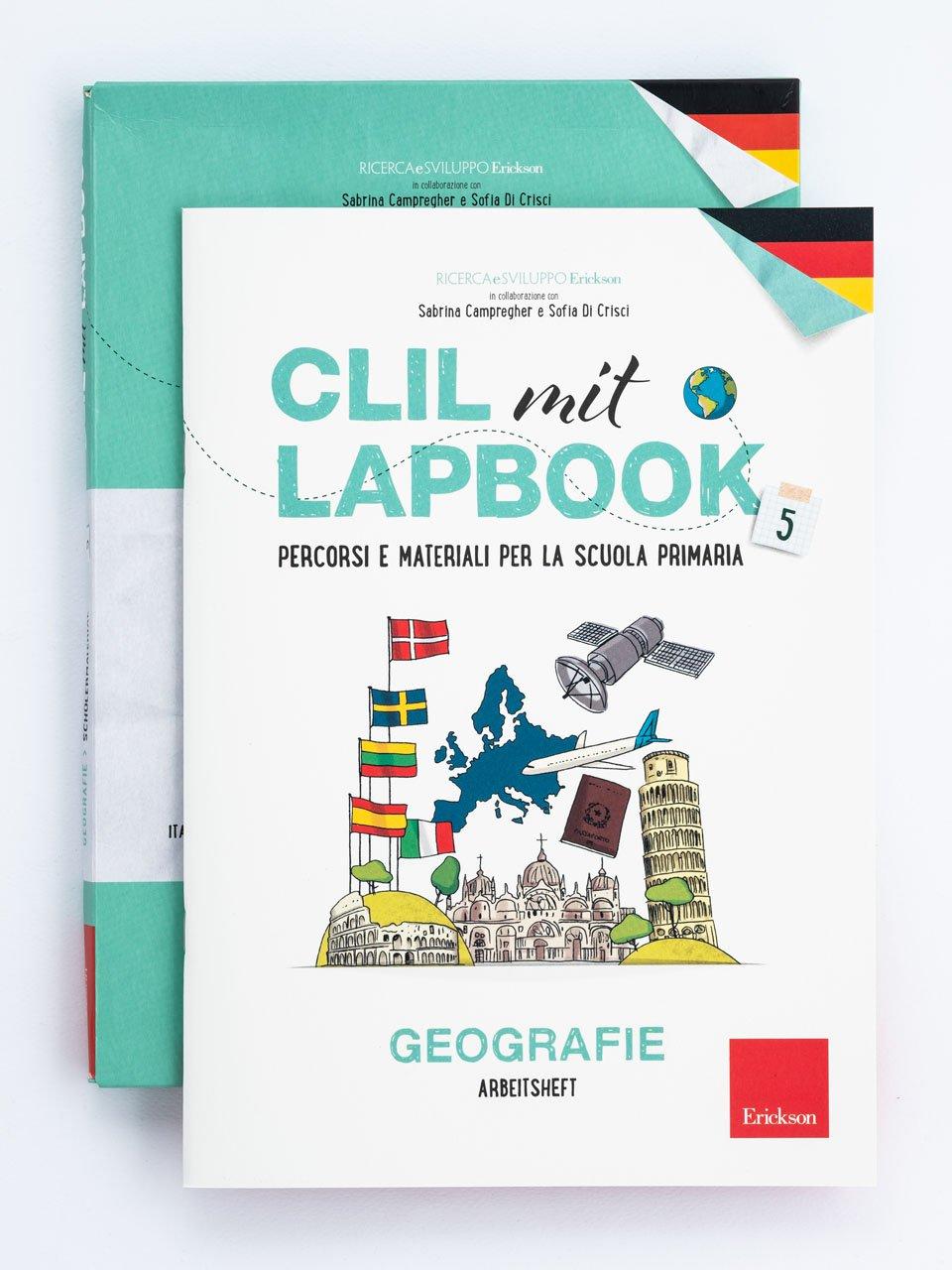 CLIL mit LAPBOOK - Geografie - Classe quinta - Libri - Erickson 6