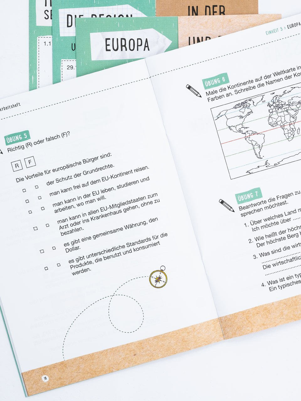 CLIL mit LAPBOOK - Geografie - Classe quinta - Libri - Erickson 7
