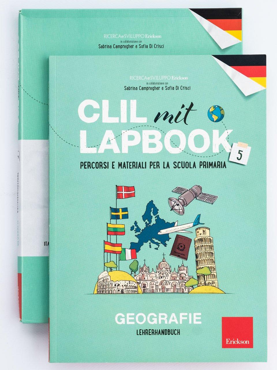 CLIL mit LAPBOOK - Geografie - Classe quinta - Libri - Erickson 2