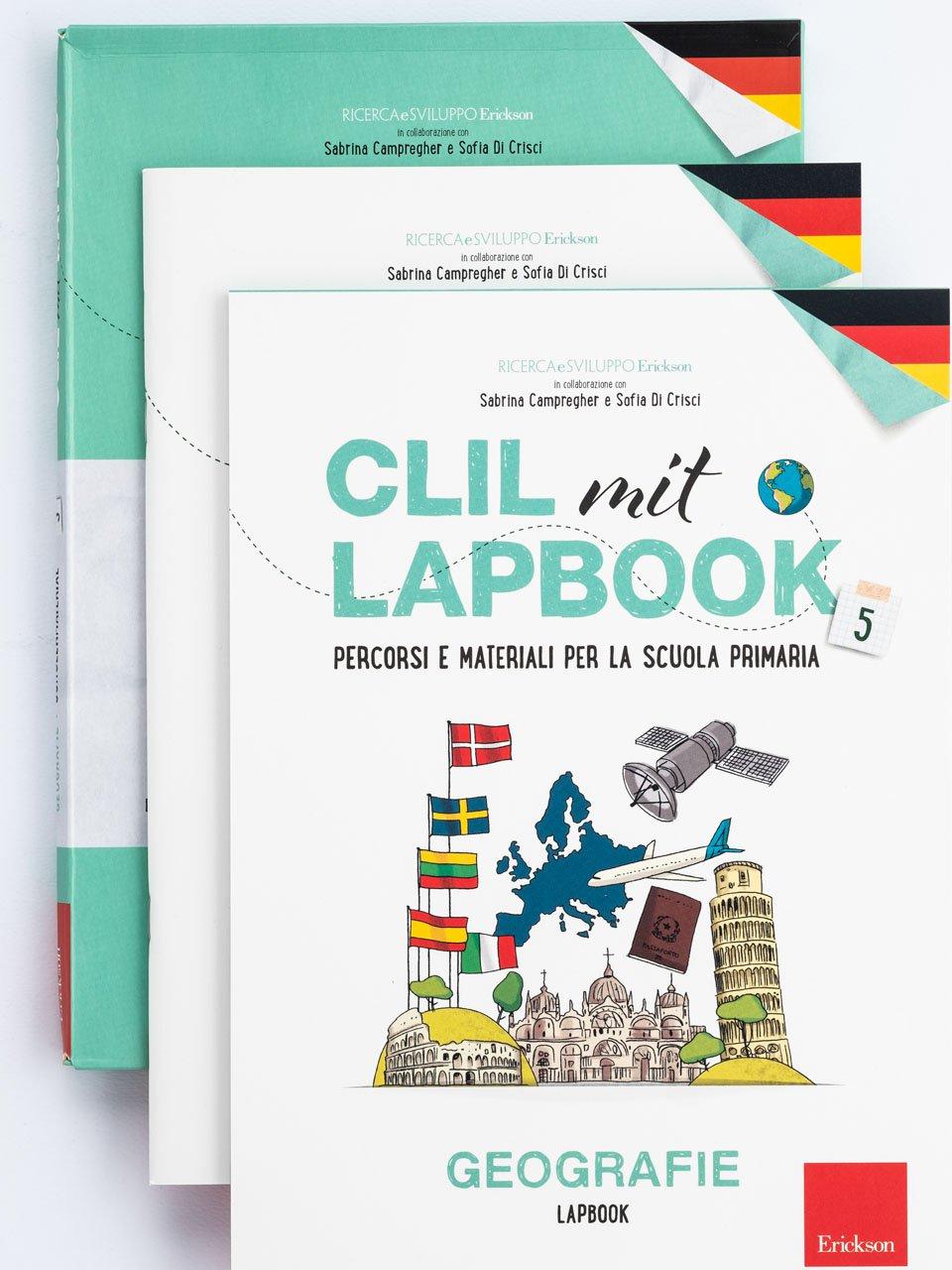CLIL mit LAPBOOK - Geografie - Classe quinta - Libri - Erickson 3