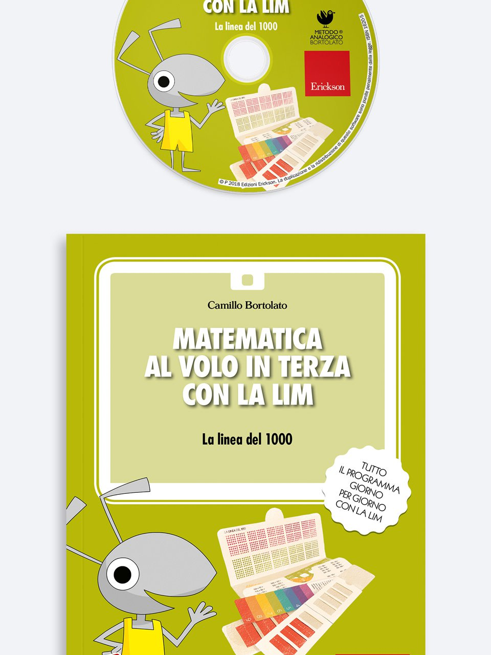Matematica al volo in terza con la LIM - Test AC-MT 11-14 - Test di valutazione delle abili - Libri - Erickson