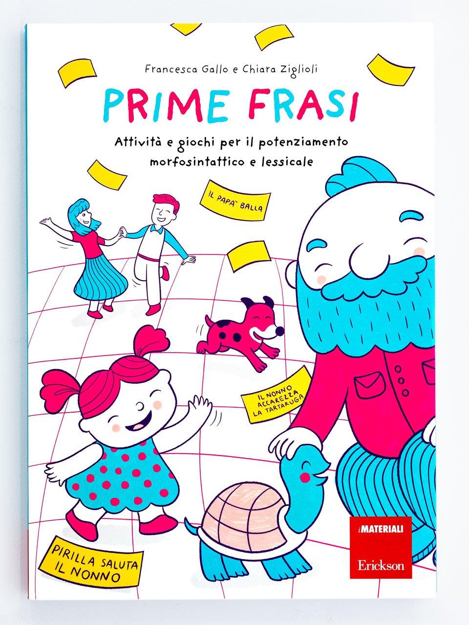 Prime frasi - Astuccio delle regole di italiano - Libri - Erickson