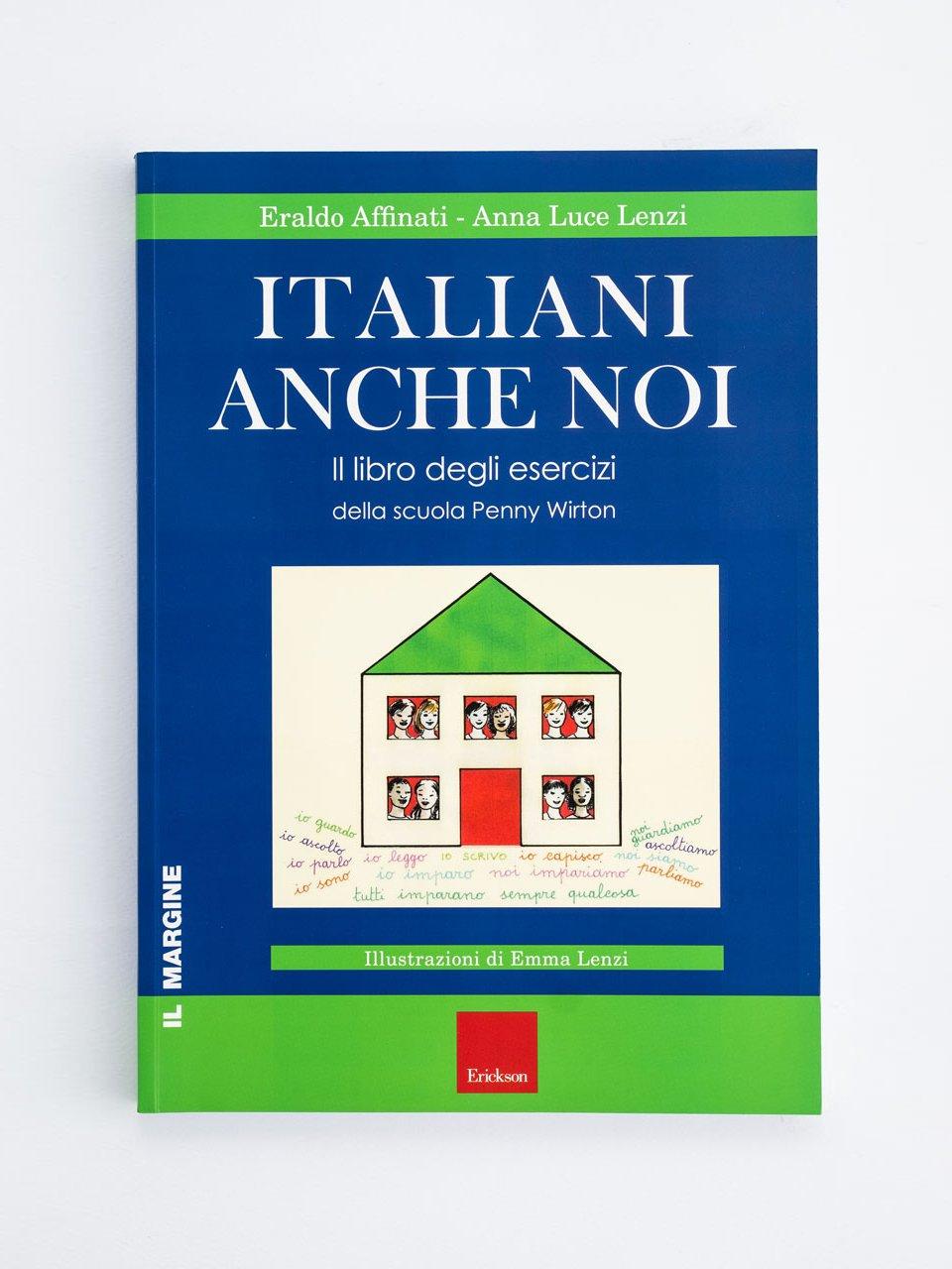 Italiani anche noi - Il libro degli esercizi - Libri - Erickson