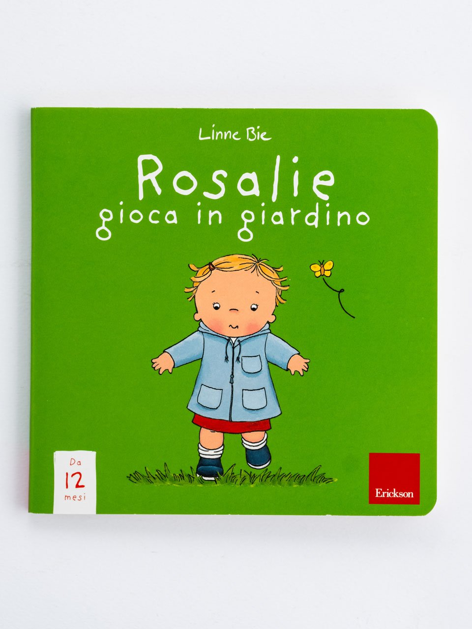 Rosalie gioca in giardino - Giochinsieme - Spazio e posizioni - Strumenti - Erickson