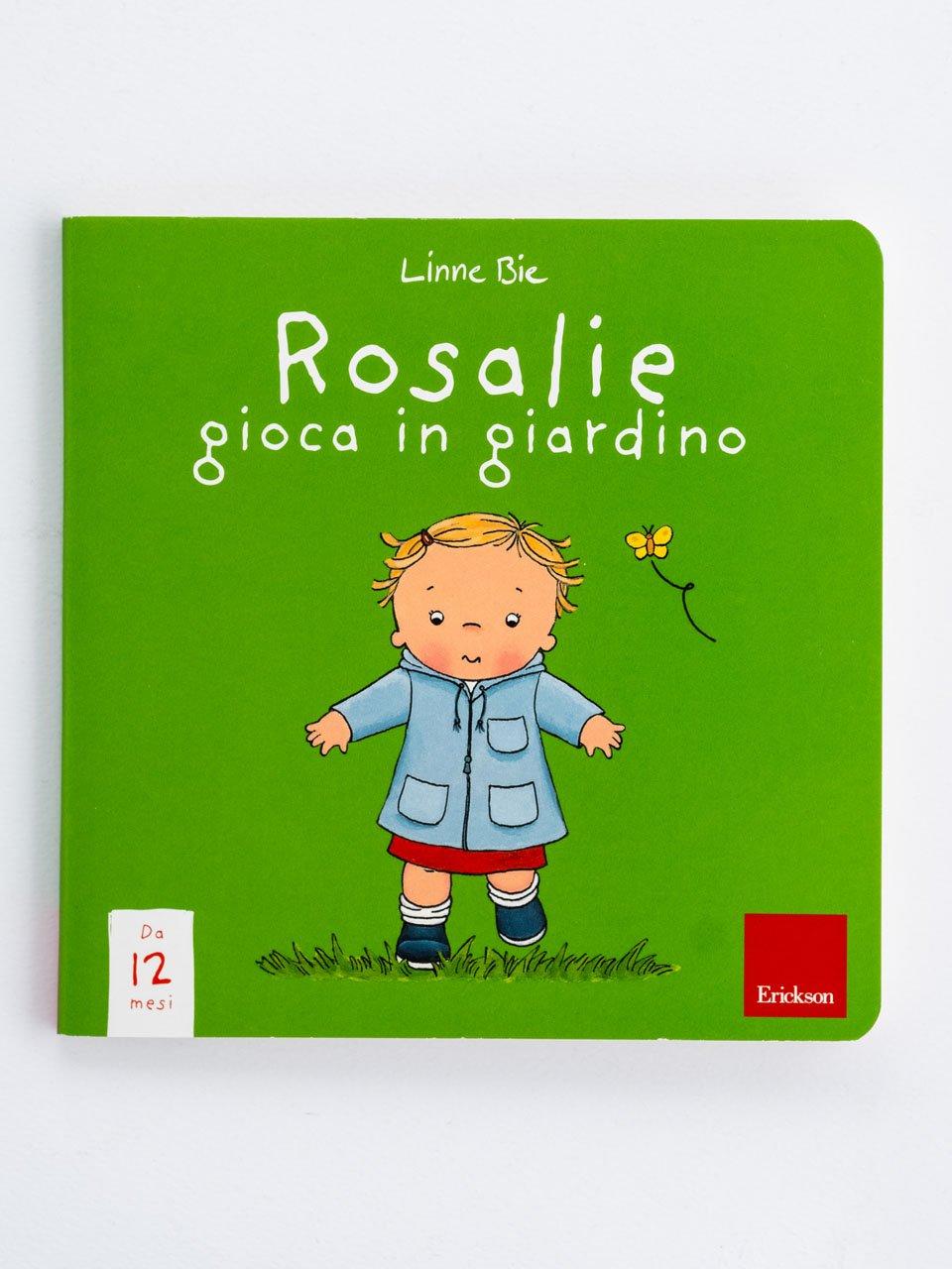 Rosalie gioca in giardino - Educatore / Coordinatore asilo nido - Erickson