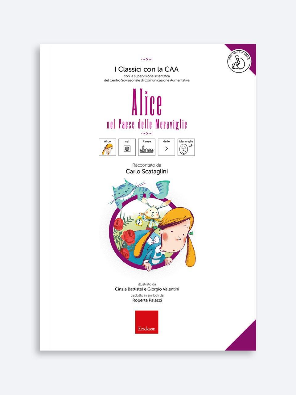 I Classici con la CAA - Alice nel Paese delle Meraviglie - I Classici con la CAA - Pinocchio - Libri - Erickson