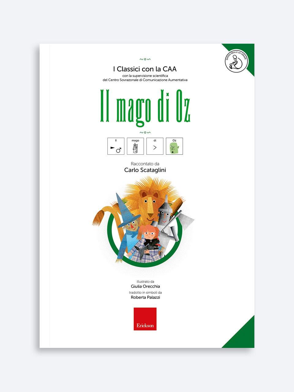 I Classici con la CAA - Il mago di Oz - I Classici con la CAA - Pinocchio - Libri - Erickson