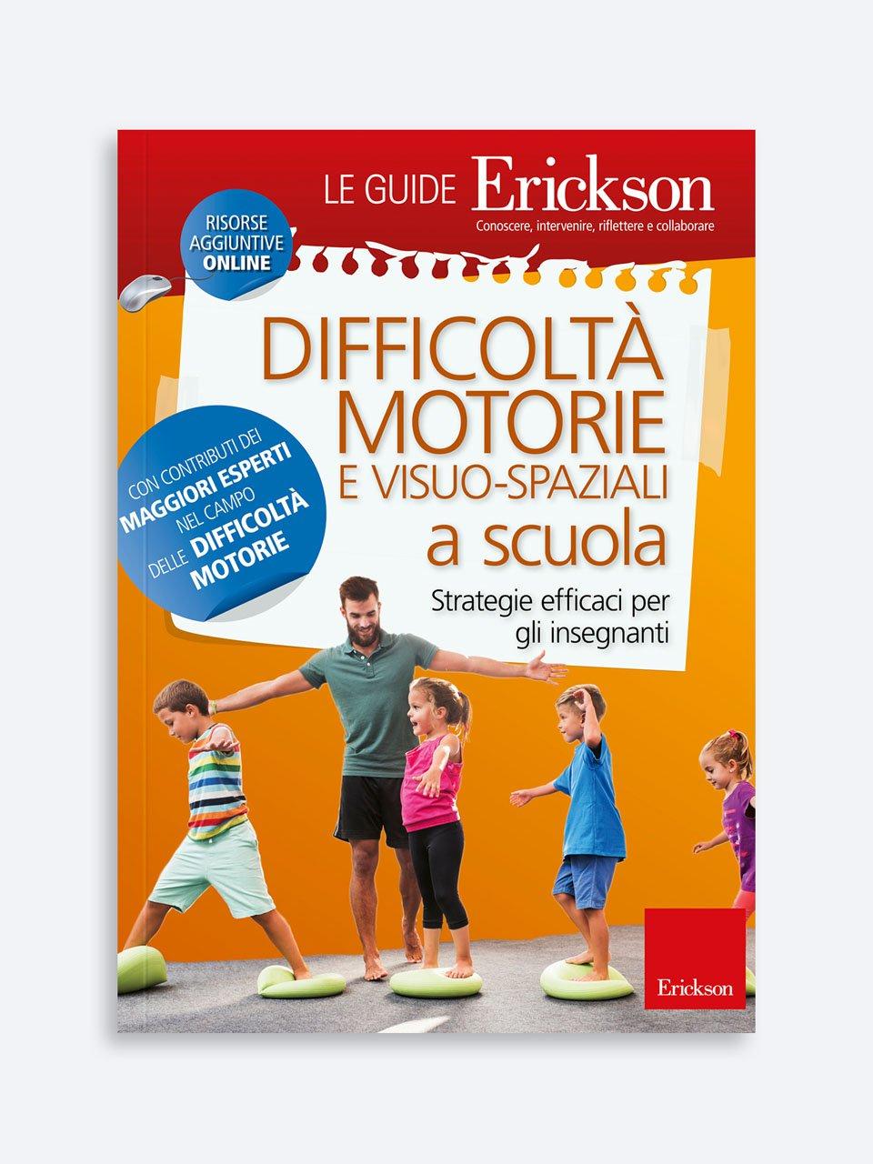 Difficoltà motorie e visuo-spaziali a scuola - Giochinsieme - Colori e associazioni - Strumenti - Erickson