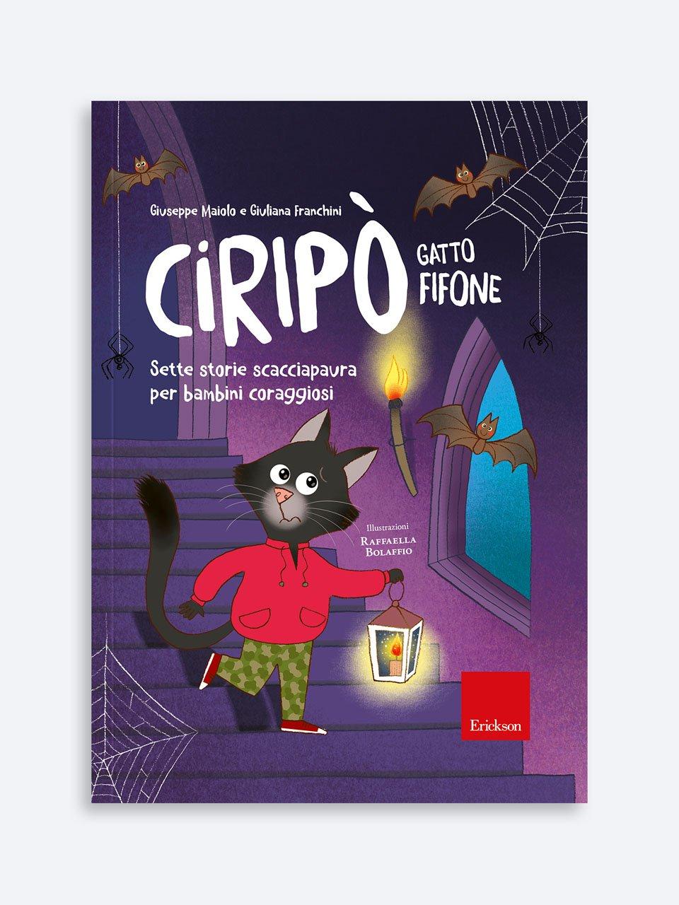 Ciripò gatto fifone - Disegnare le emozioni - Libri - Erickson