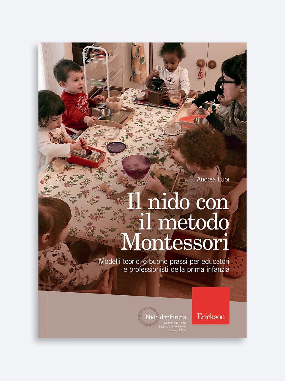 Il nido con il metodo Montessori - Educatore / Coordinatore asilo nido - Erickson