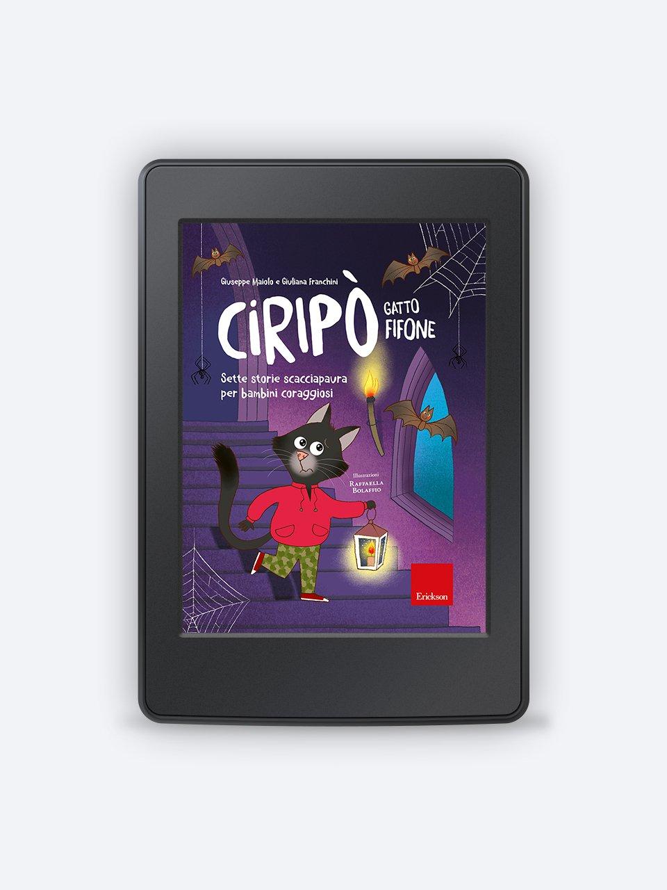 Ciripò gatto fifone - Libri - Erickson 3