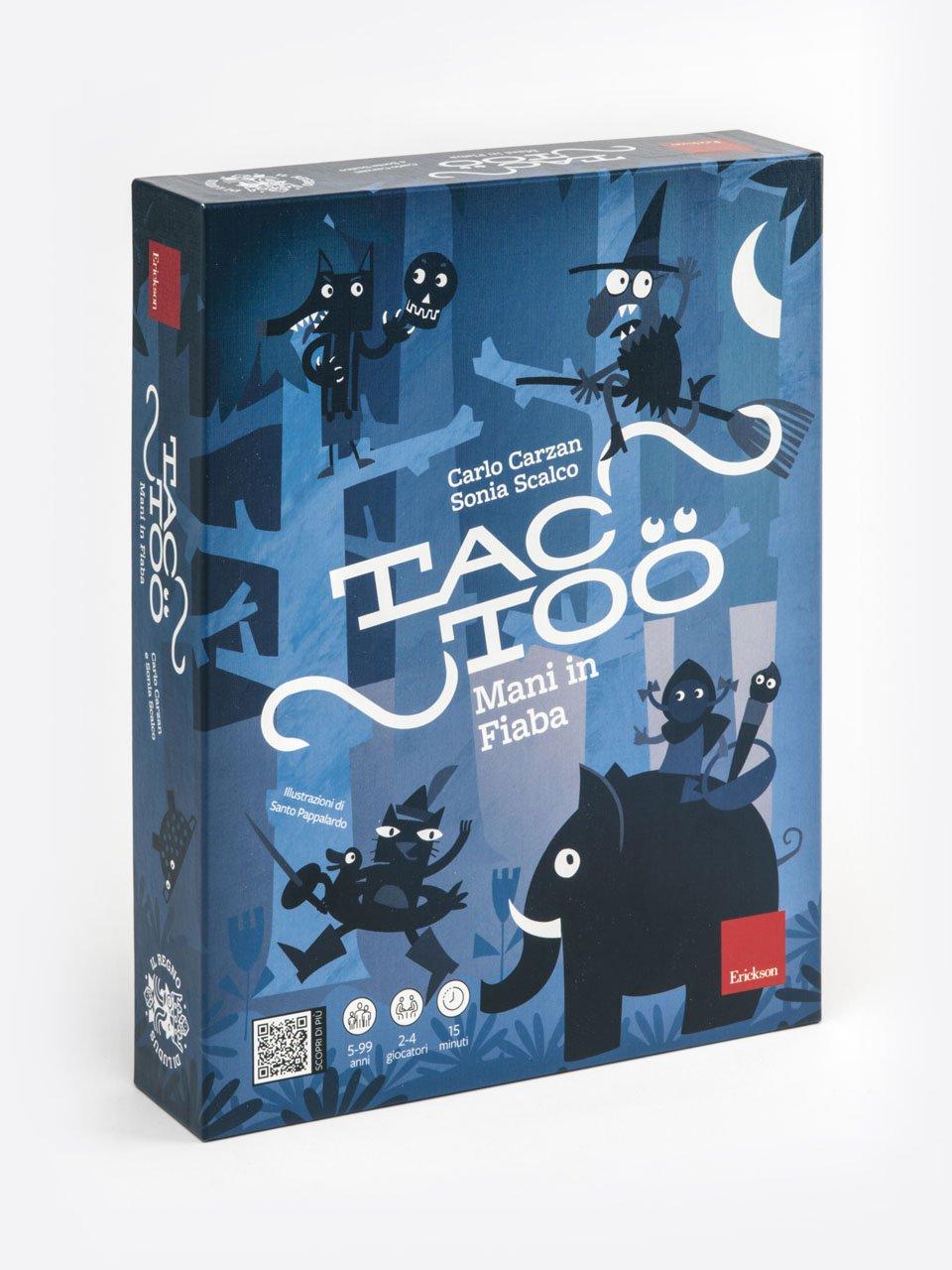TACTOO - Giochi Educativi, istruttivi e divertenti per bambini - Erickson