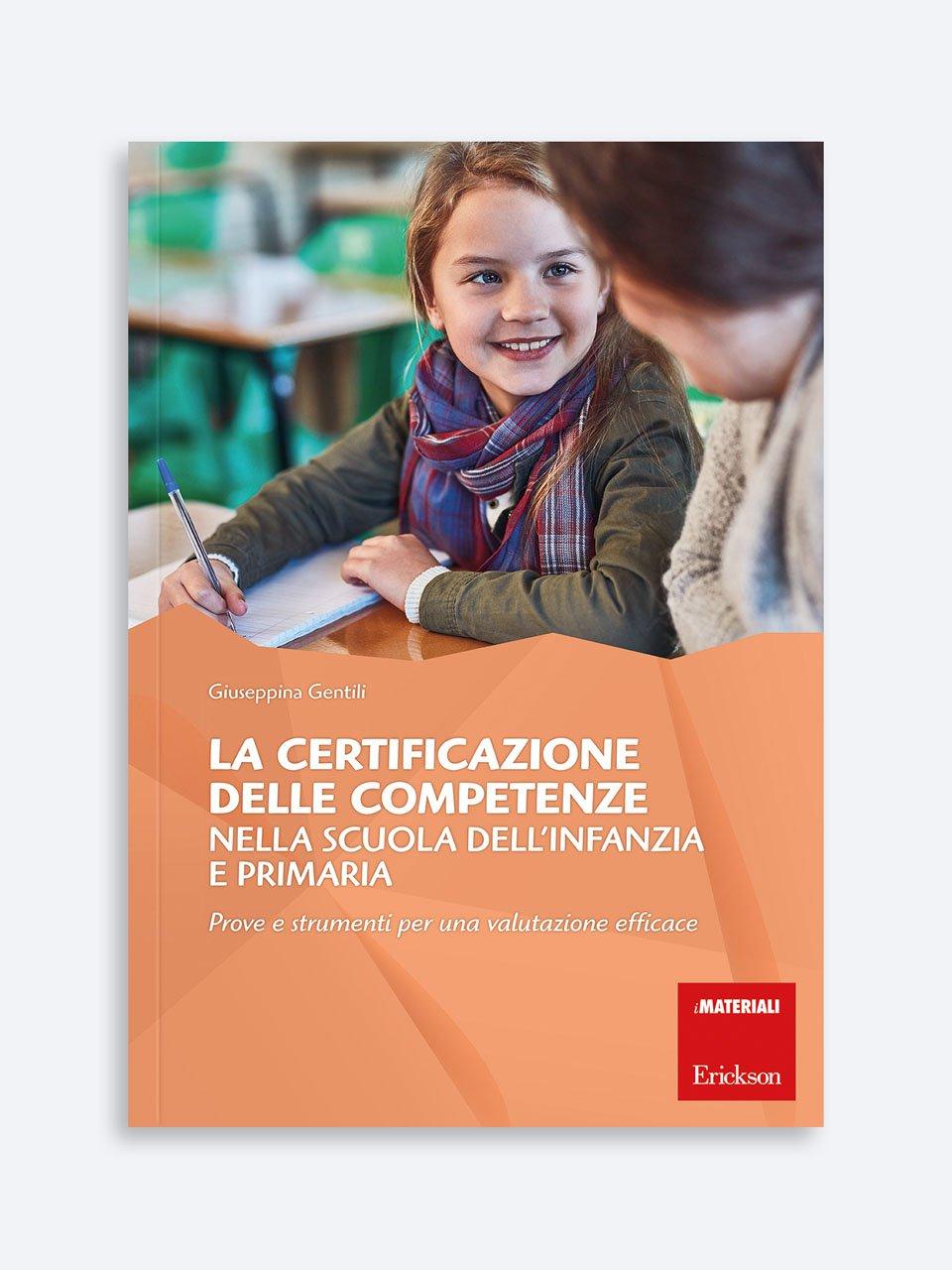 La certificazione delle competenze nella scuola dell'infanzia e primaria - Giuseppina Gentili - Erickson