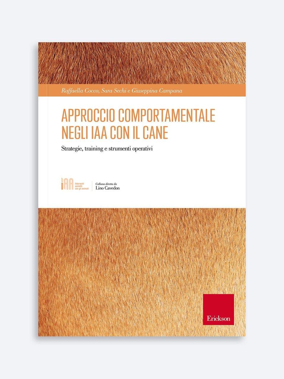 Approccio comportamentale negli IAA con il cane - ICF-CY - Libri - Erickson