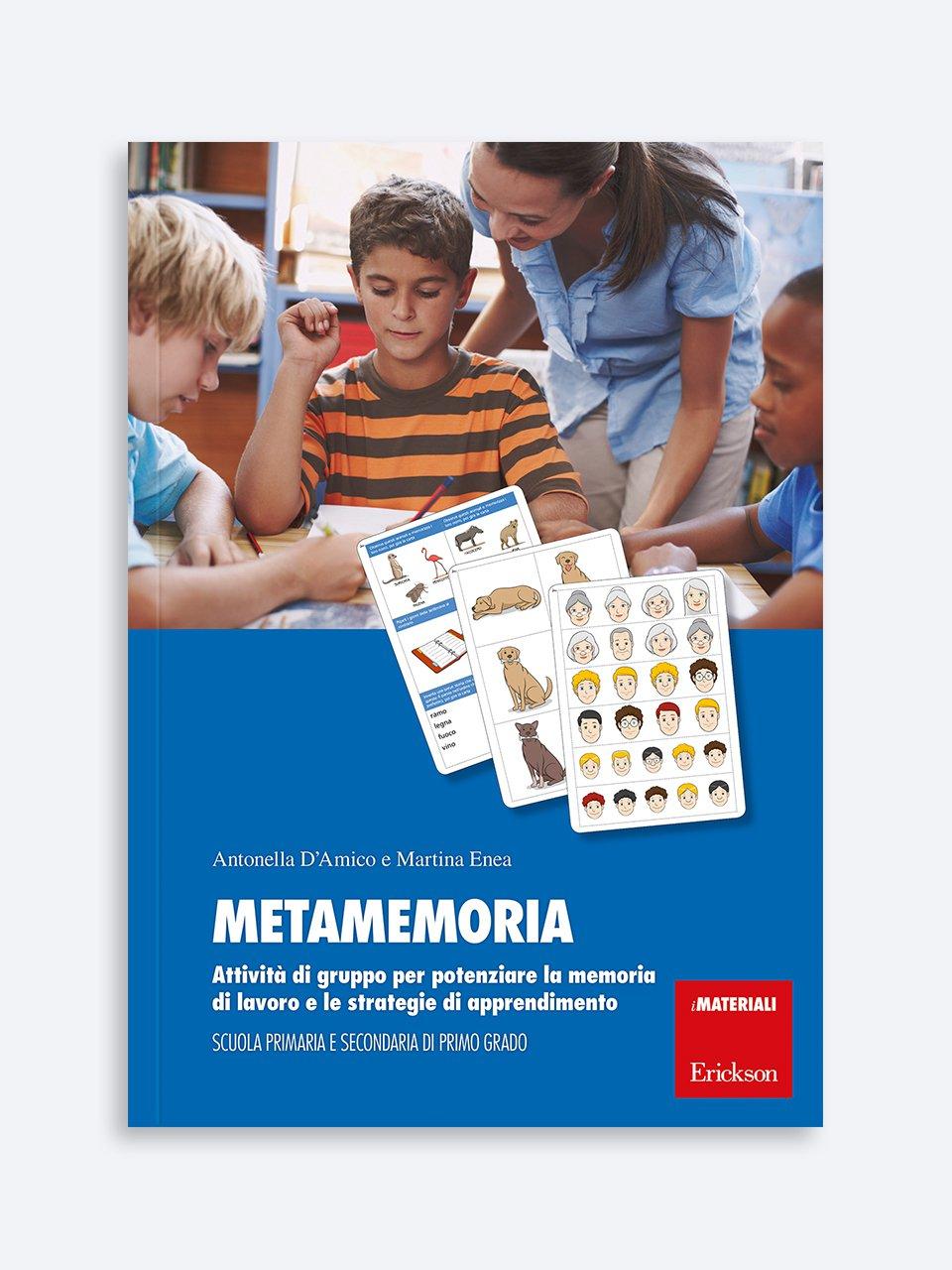 Metamemoria - Infiniti giochi di parole - Libri - App e software - Erickson