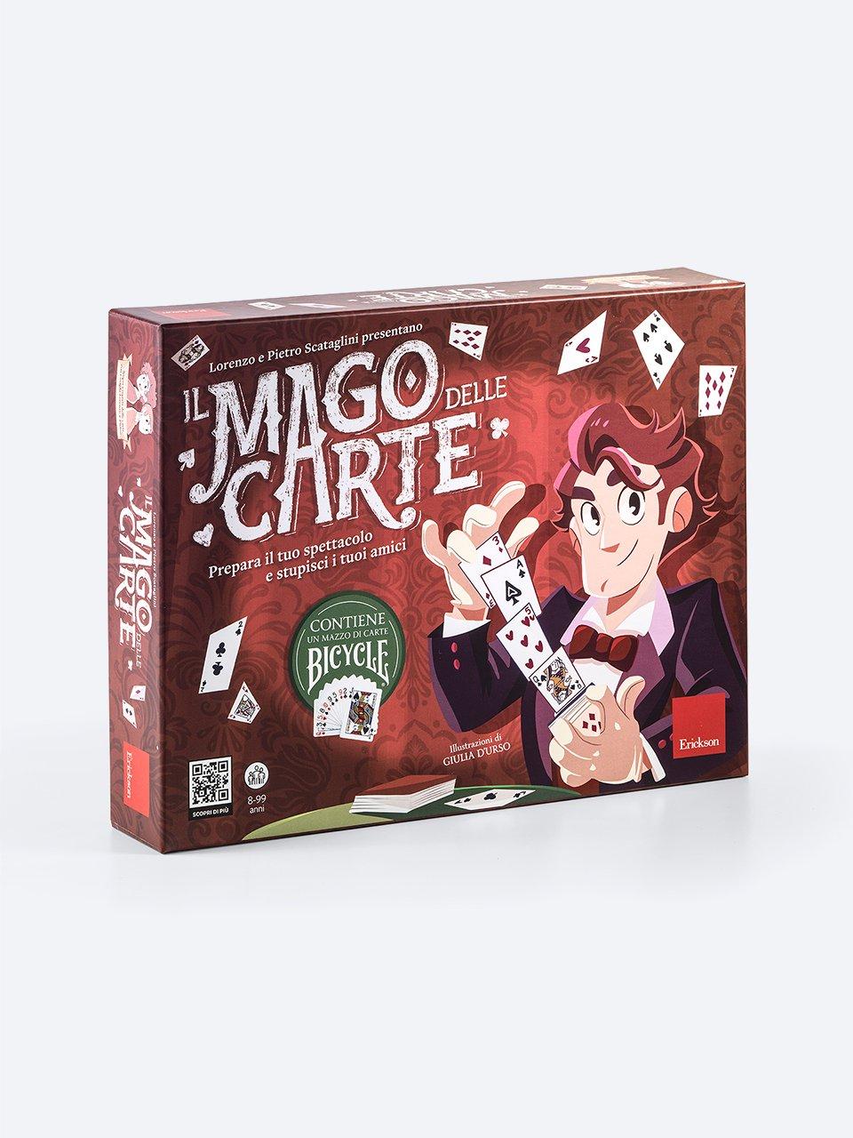 Il Mago delle Carte - Giochi Educativi, istruttivi e divertenti per bambini - Erickson
