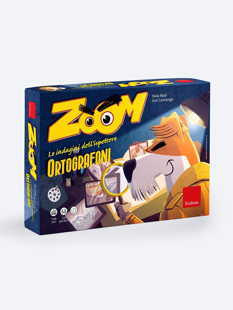 Zoom - Giochi Educativi, istruttivi e divertenti per bambini - Erickson
