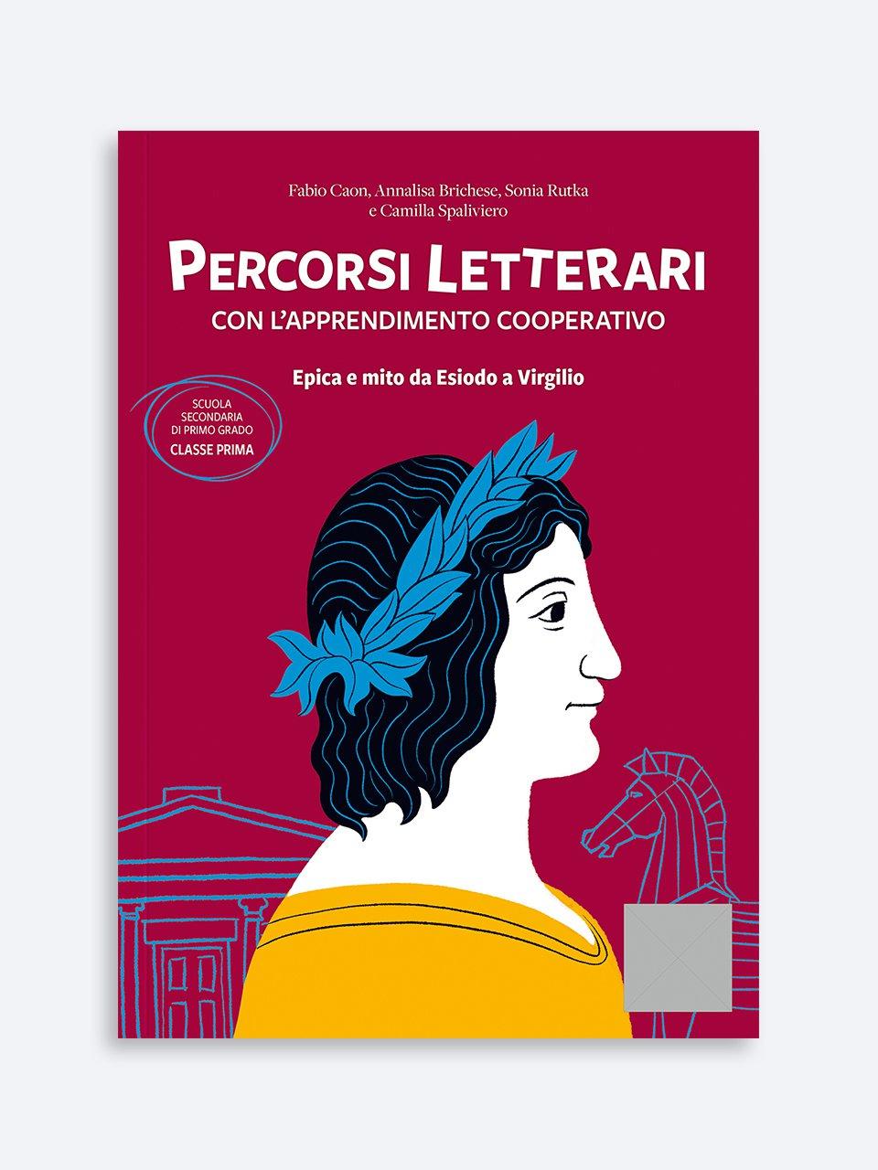 Percorsi letterari con l'apprendimento cooperativo - Italiano / Storia / Geografia - Erickson