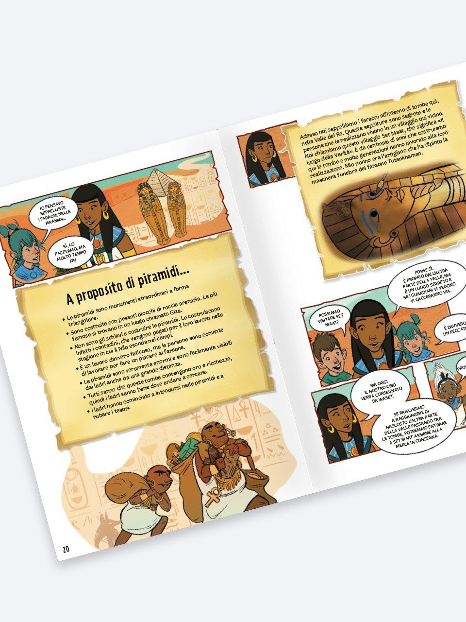 Gli STORIANAUTI - Avventura nell'antico Egitto - Libri - Erickson 2