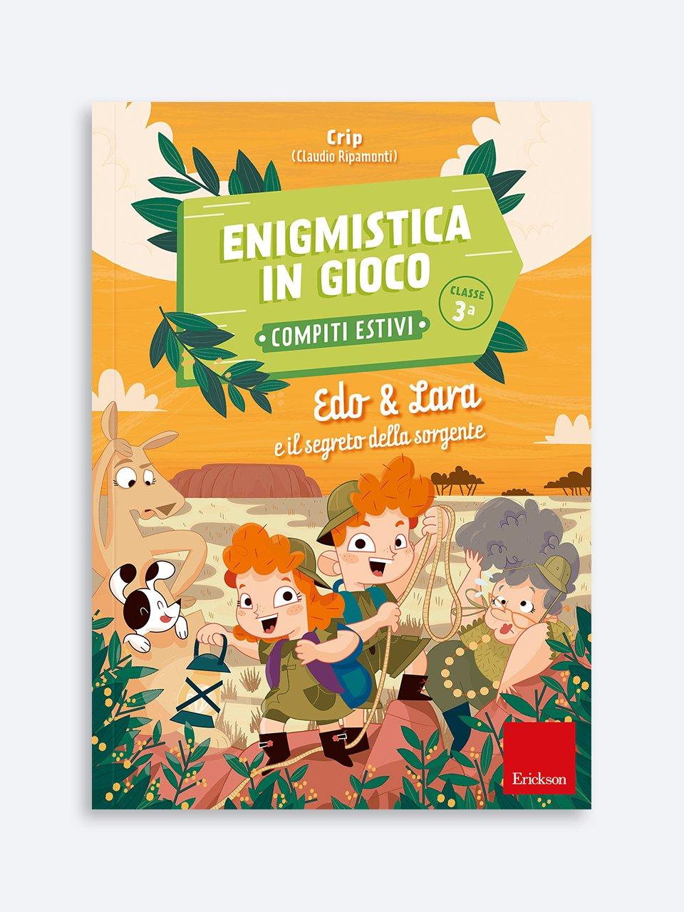 Enigmistica in gioco -  Compiti estivi - Classe terza - Le proposte Erickson per i compiti-delle-vacanze - Erickson