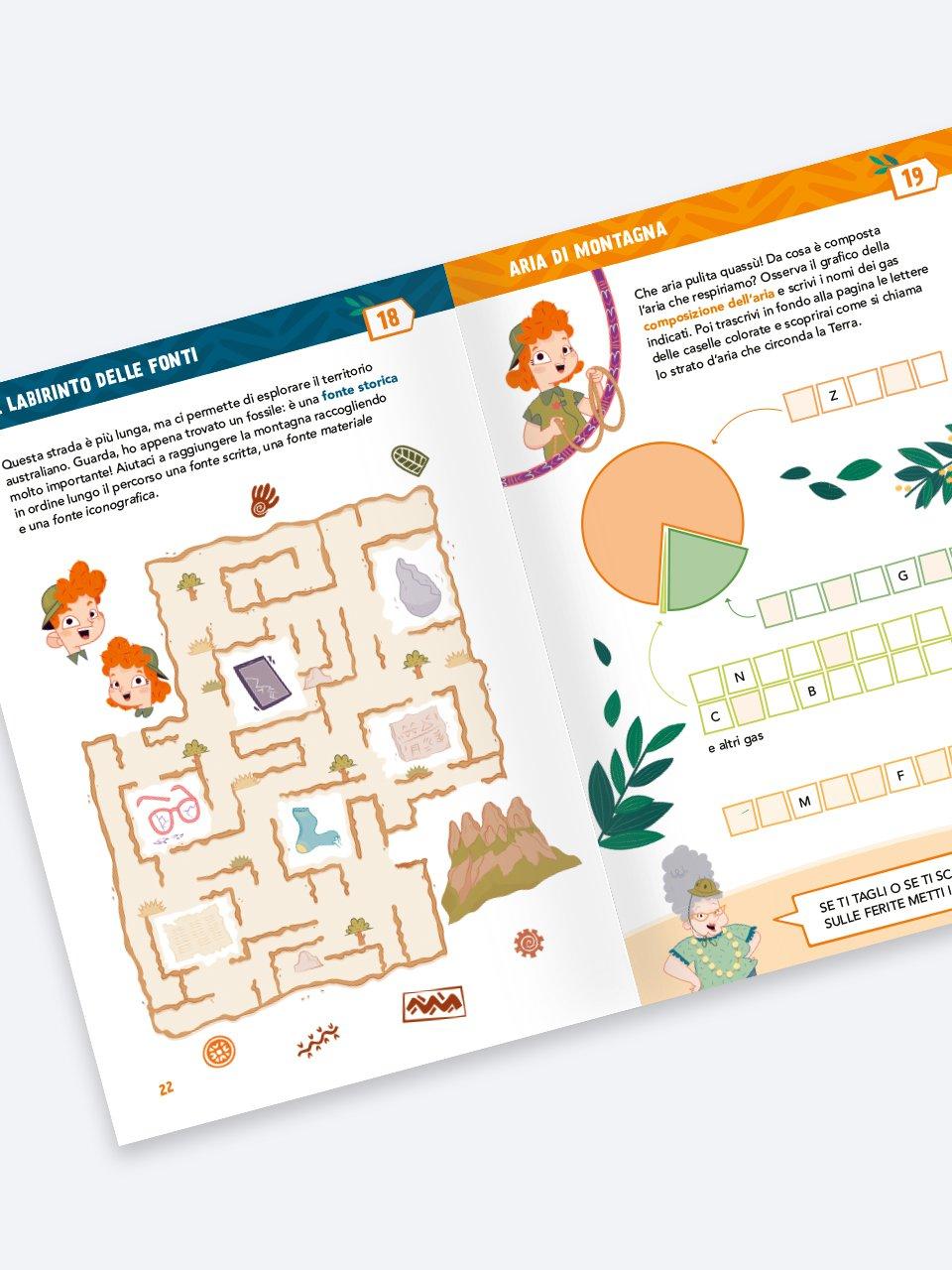Enigmistica in gioco -  Compiti estivi - Classe te - Libri - Erickson 2