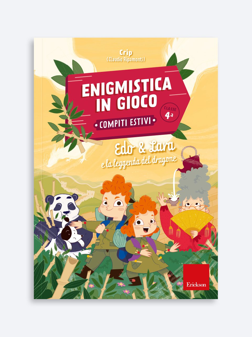 Enigmistica in gioco -  Compiti estivi - Classe quarta - Libri su Educazione e Scuola, formazione insegnanti - Erickson