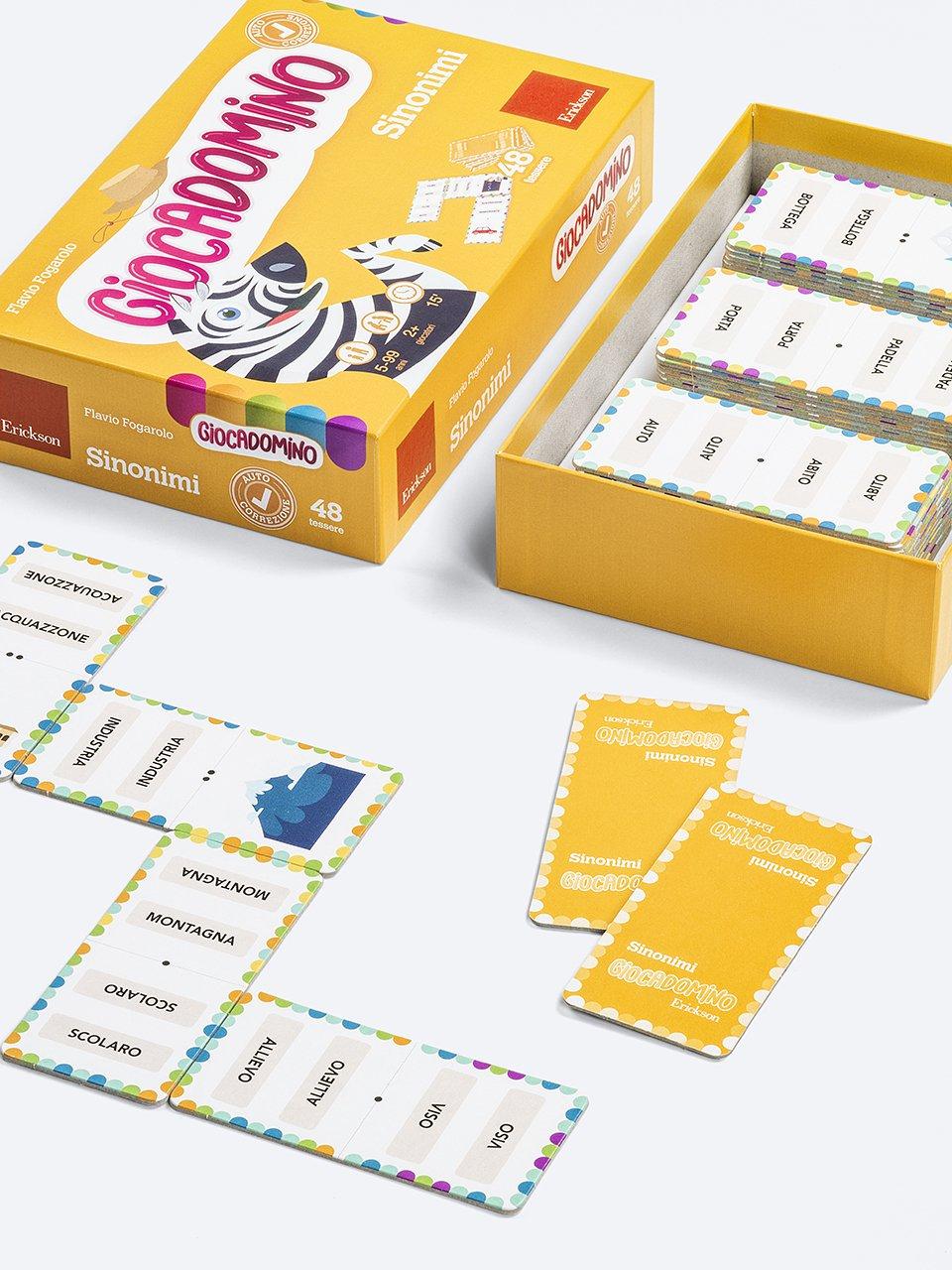 Giocadomino - Sinonimi - Giochi - Erickson 2