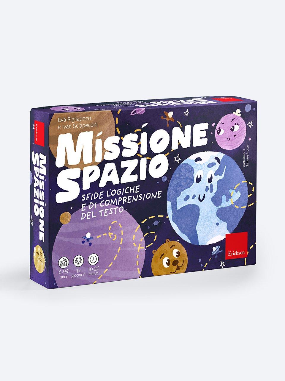 Missione spazio - Comprensione del testo - Erickson