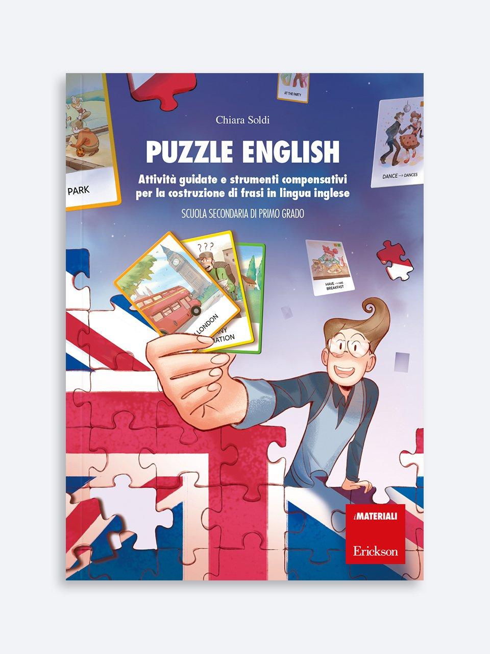 Puzzle English - Libri e corsi su DSA e disturbi specifici dell'apprendimento - Erickson