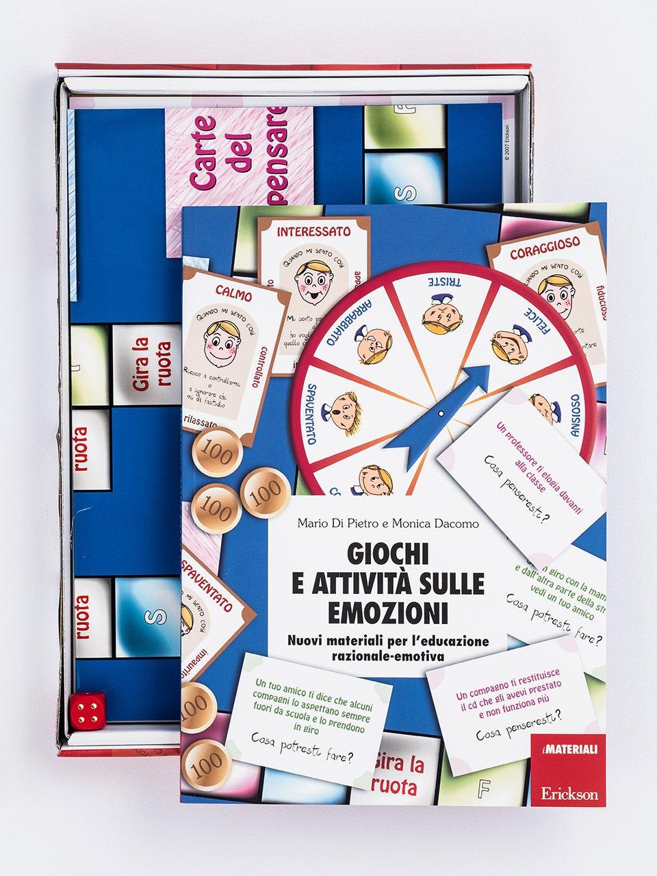 Giochi e attività sulle emozioni - La valigetta delle ricompense - Strumenti - Erickson