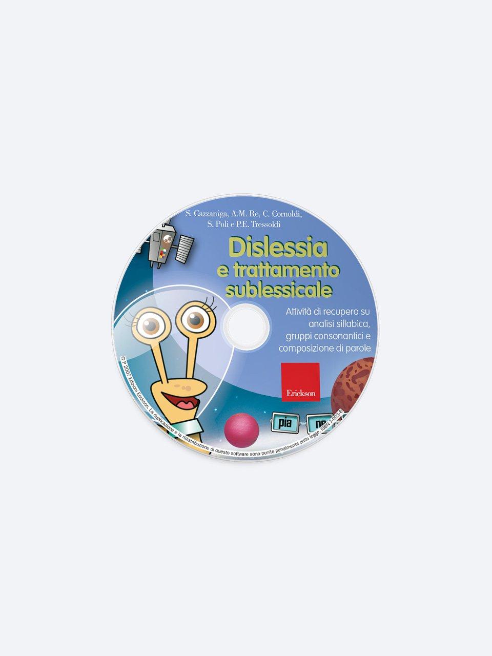 Dislessia e trattamento sublessicale - Schede per Tablotto (6-8 anni) - I mostri dell'ort - Giochi - Erickson 2