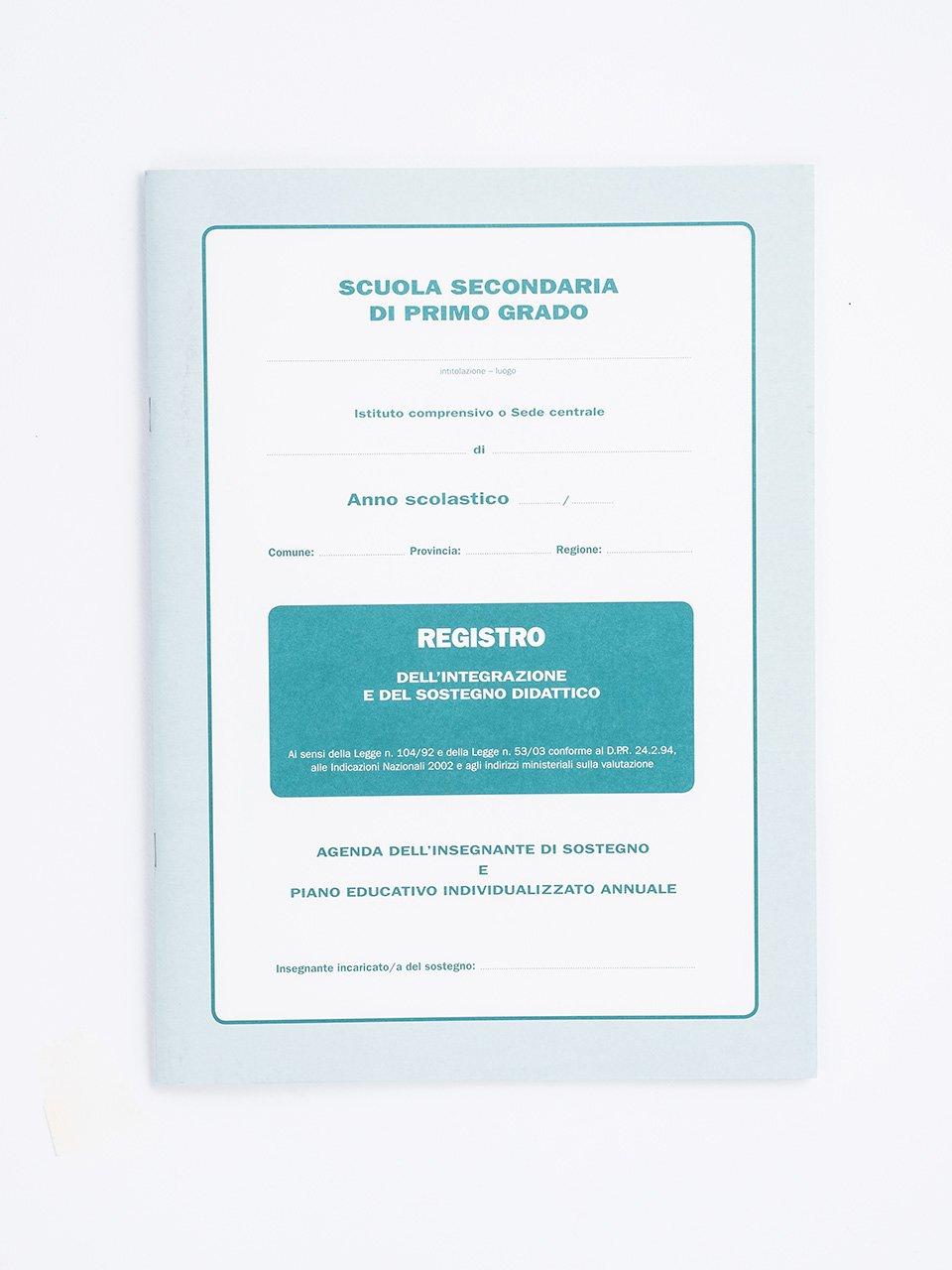 Registro dell'integrazione e del sostegno didattico - L'intervento in rete per i Bisogni Educativi Speci - Libri - Erickson