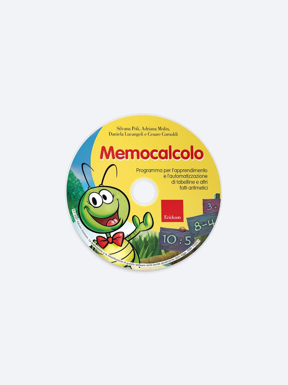 Memocalcolo - Test ABCA - Abilità di calcolo aritmetico - Libri - Erickson 2
