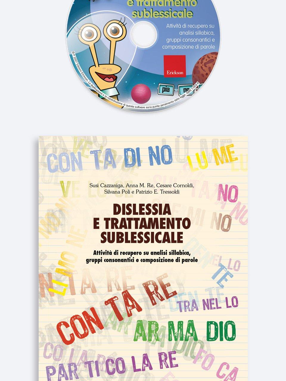 Dislessia e trattamento sublessicale - Schede per Tablotto (6-8 anni) - I mostri dell'ort - Giochi - Erickson 3