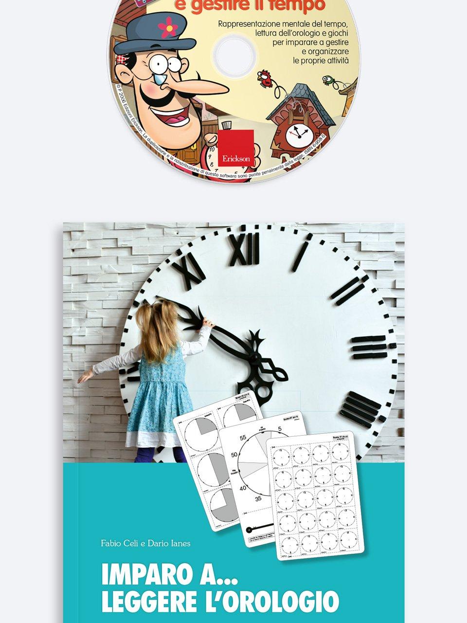Imparo a... leggere l'orologio - Dario Ianes - Erickson 4