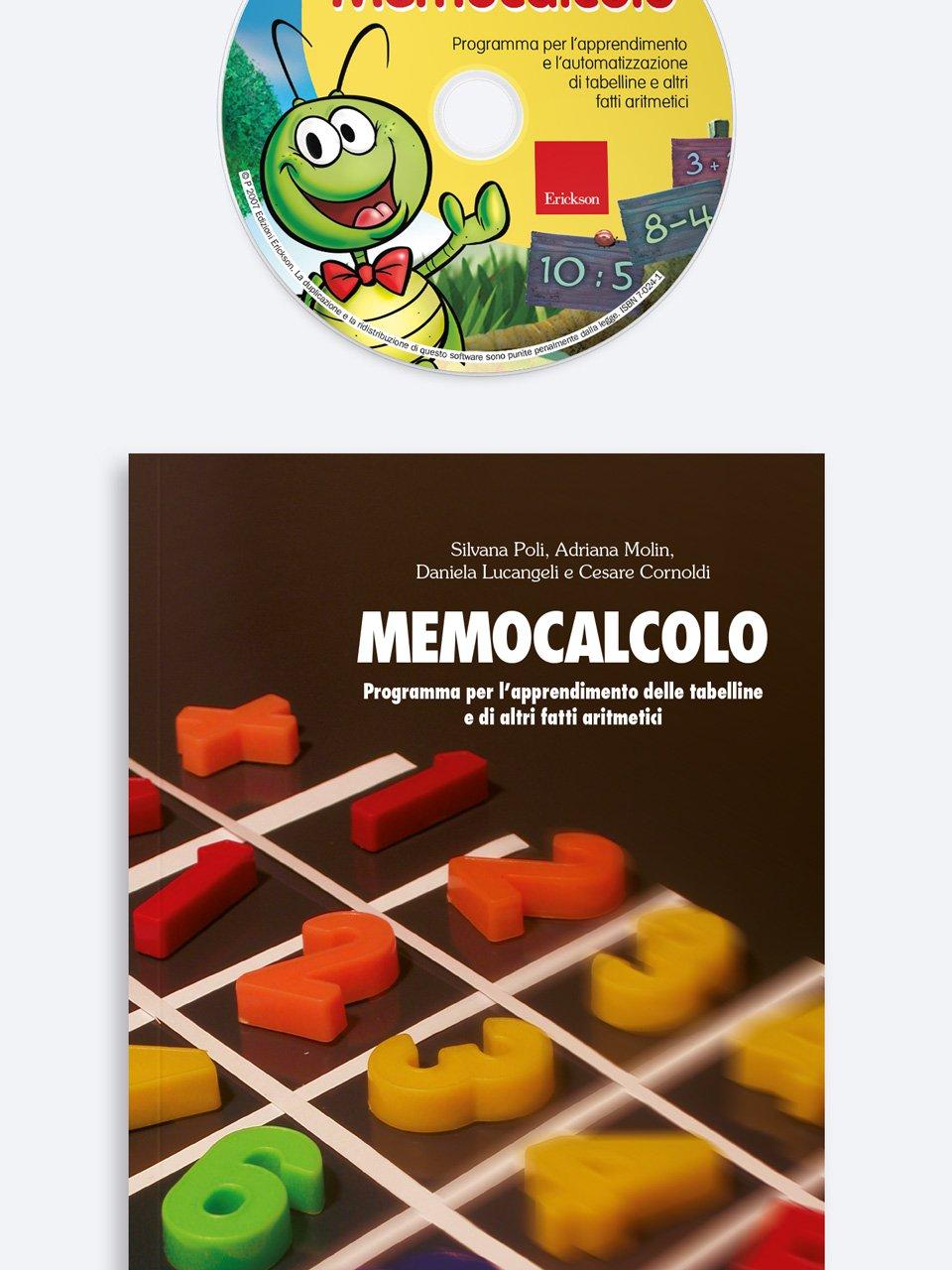 Memocalcolo - Test ABCA - Abilità di calcolo aritmetico - Libri - Erickson 3