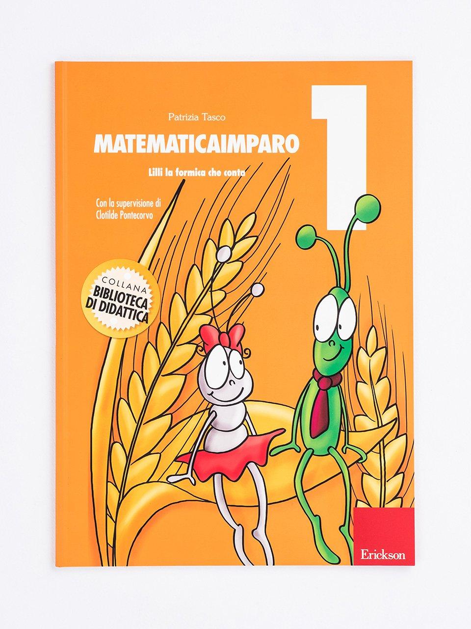 MatematicaImparo 1 - MatematicaImparo 10 - Libri - Erickson