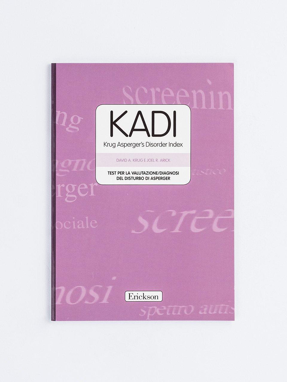 KADI - Krug Asperger's Disorder Index - Educare liberi da stereotipi - Formazione - Erickson
