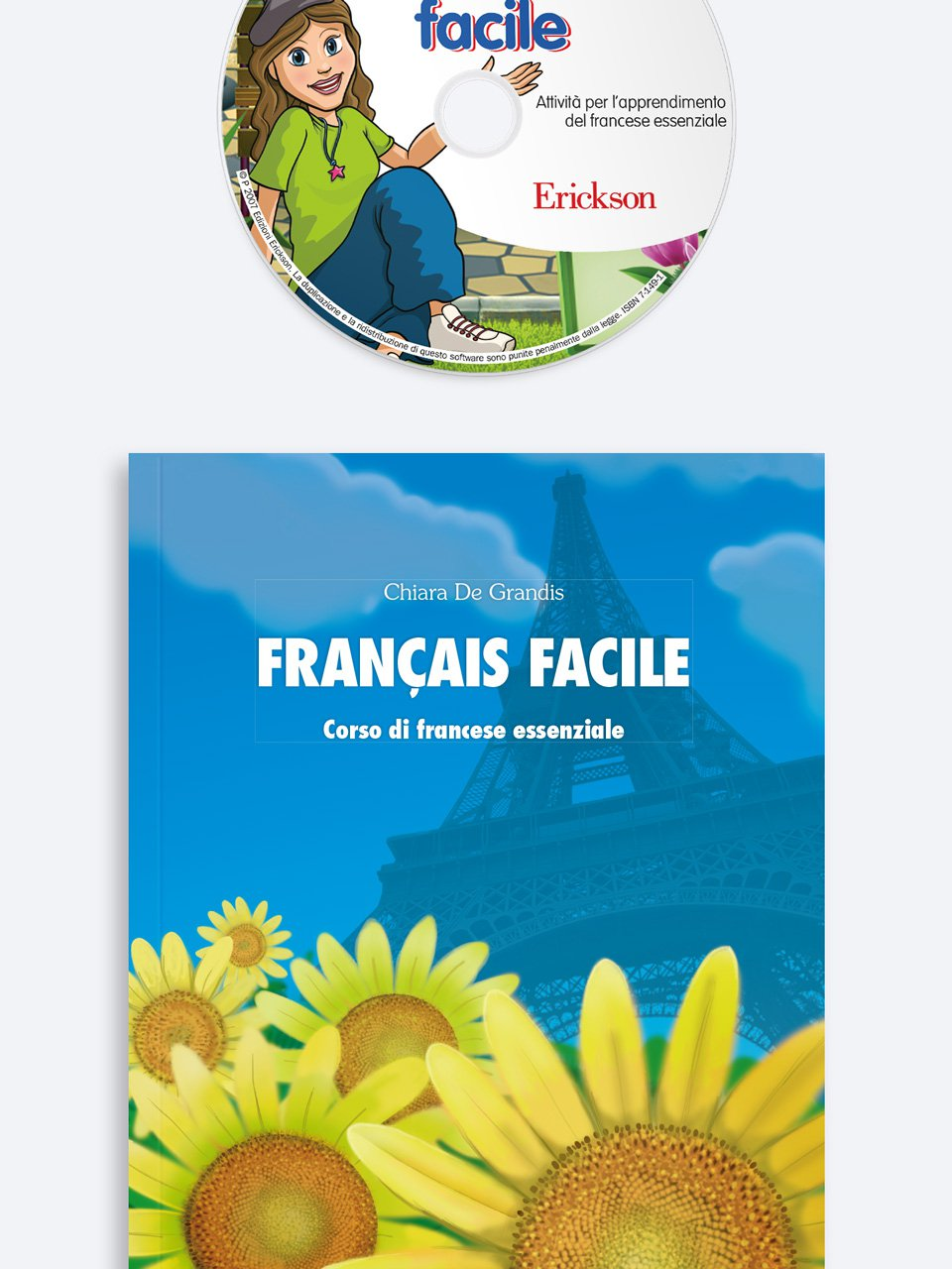 Français facile Kit (Libro + CD-Audio + Cd-Rom) - Erickson Eshop