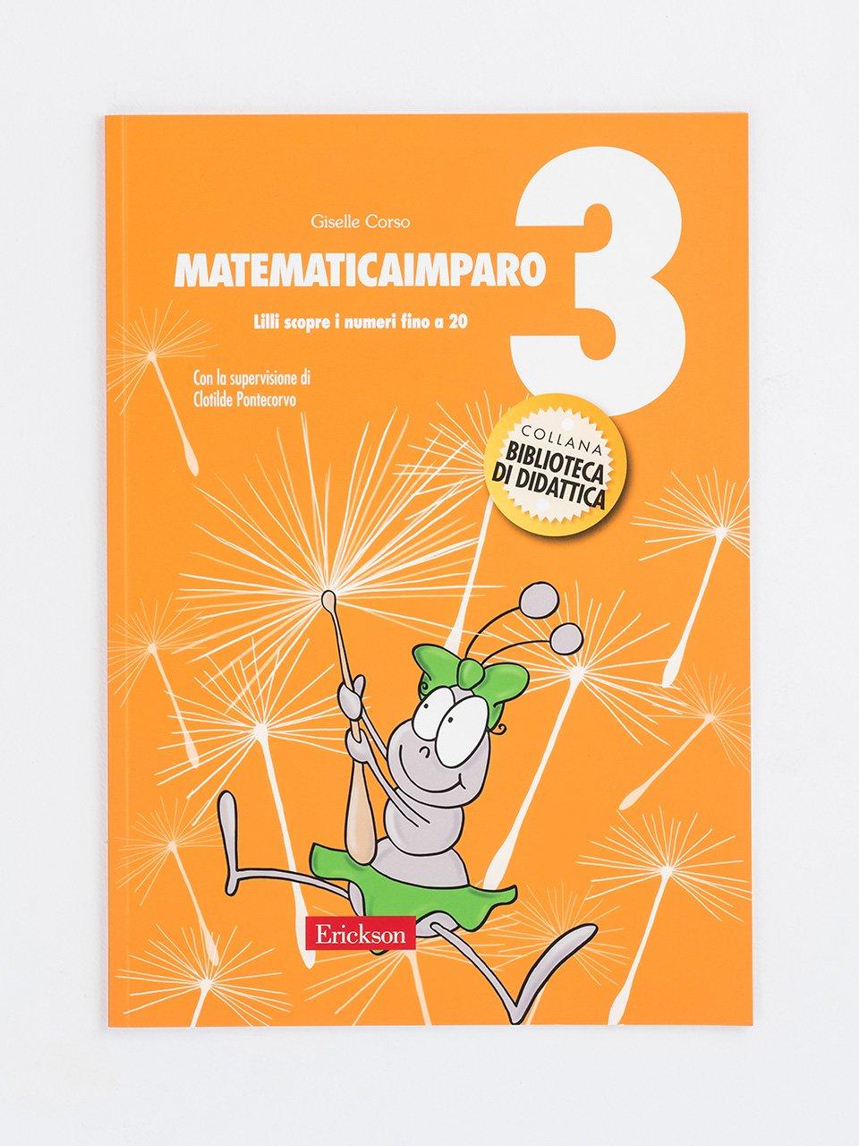 MatematicaImparo 3 - MatematicaImparo 10 - Libri - Erickson