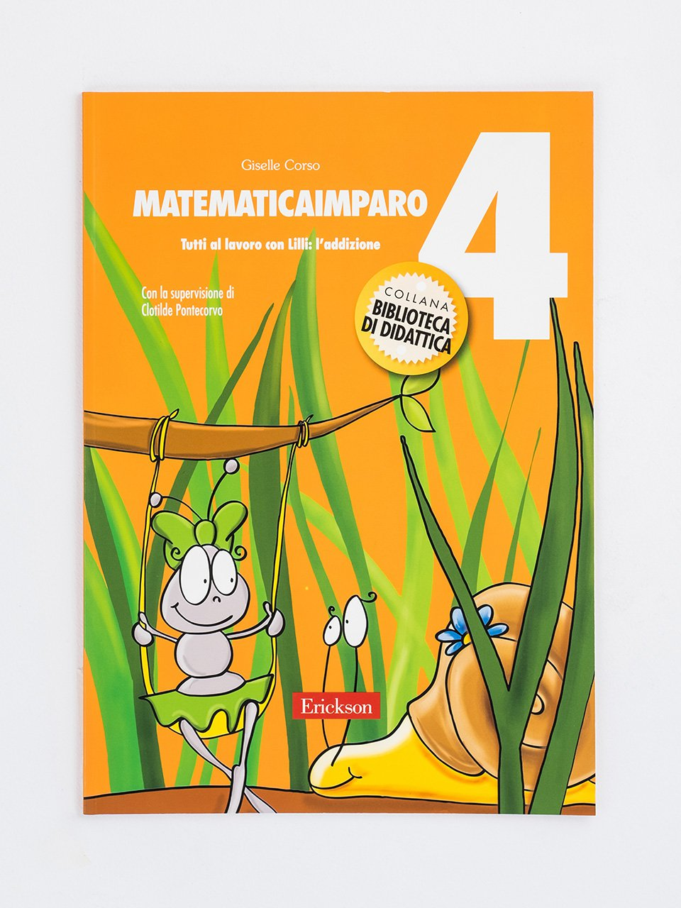 MatematicaImparo 4 - Procedure di calcolo orale - Erickson