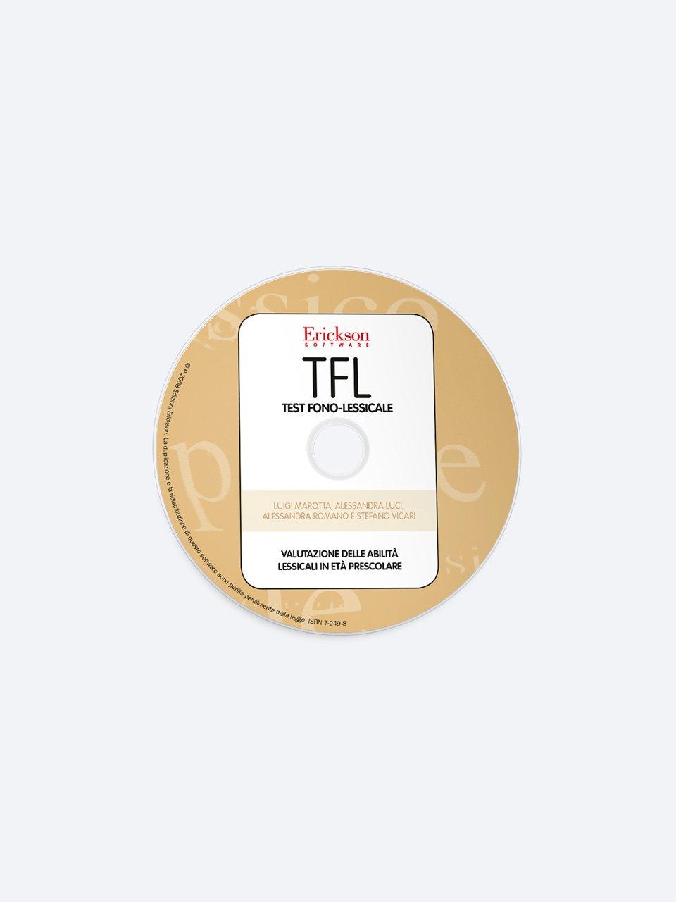 TFL Test fono-lessicale - Stefano Vicari - Erickson 2