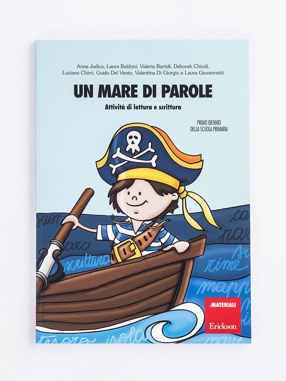 Un mare di parole - Schede per Tablotto (6-8 anni) - Grammatica incant - Giochi - Erickson