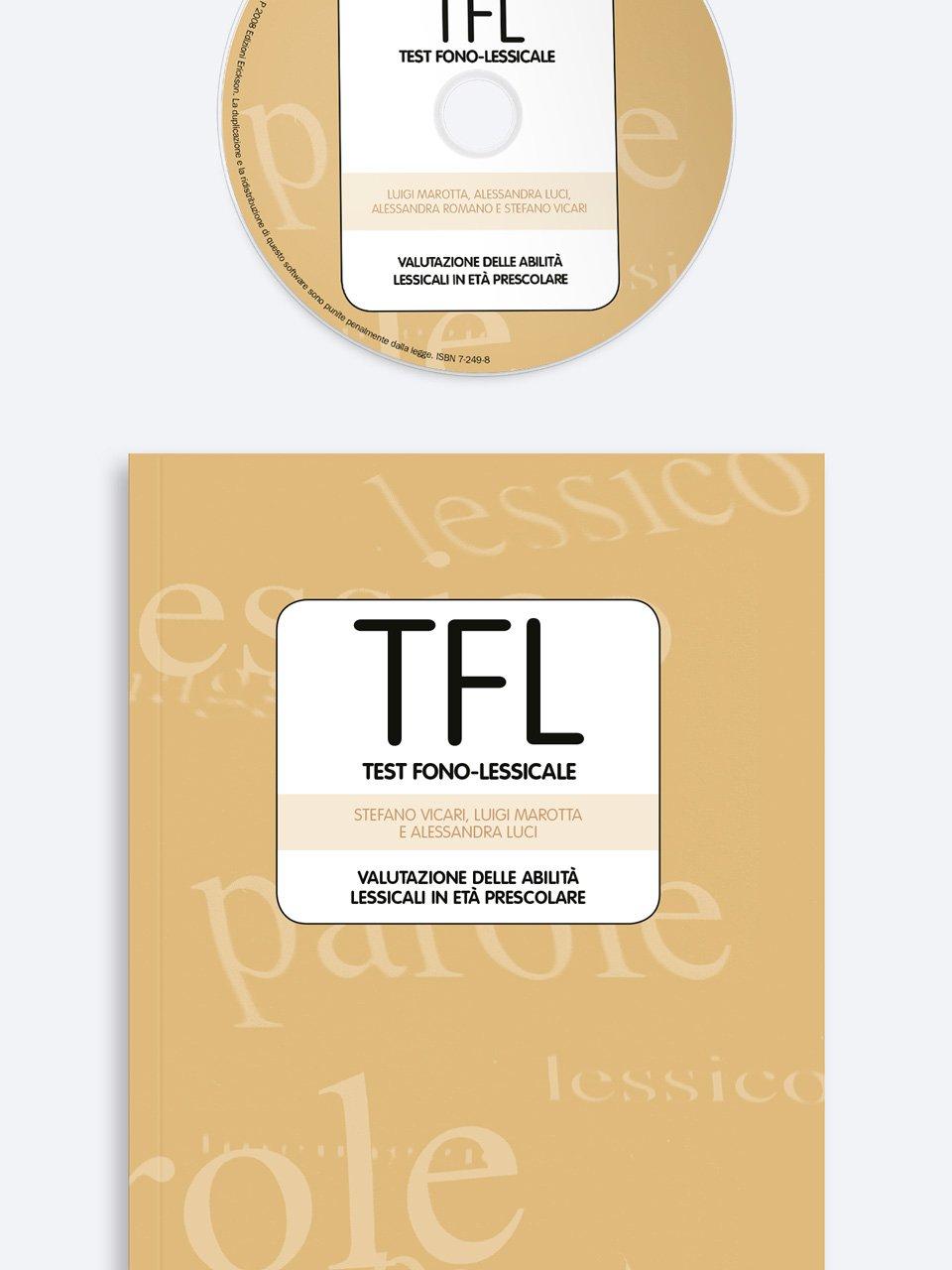 TFL Test fono-lessicale - Stefano Vicari - Erickson 3