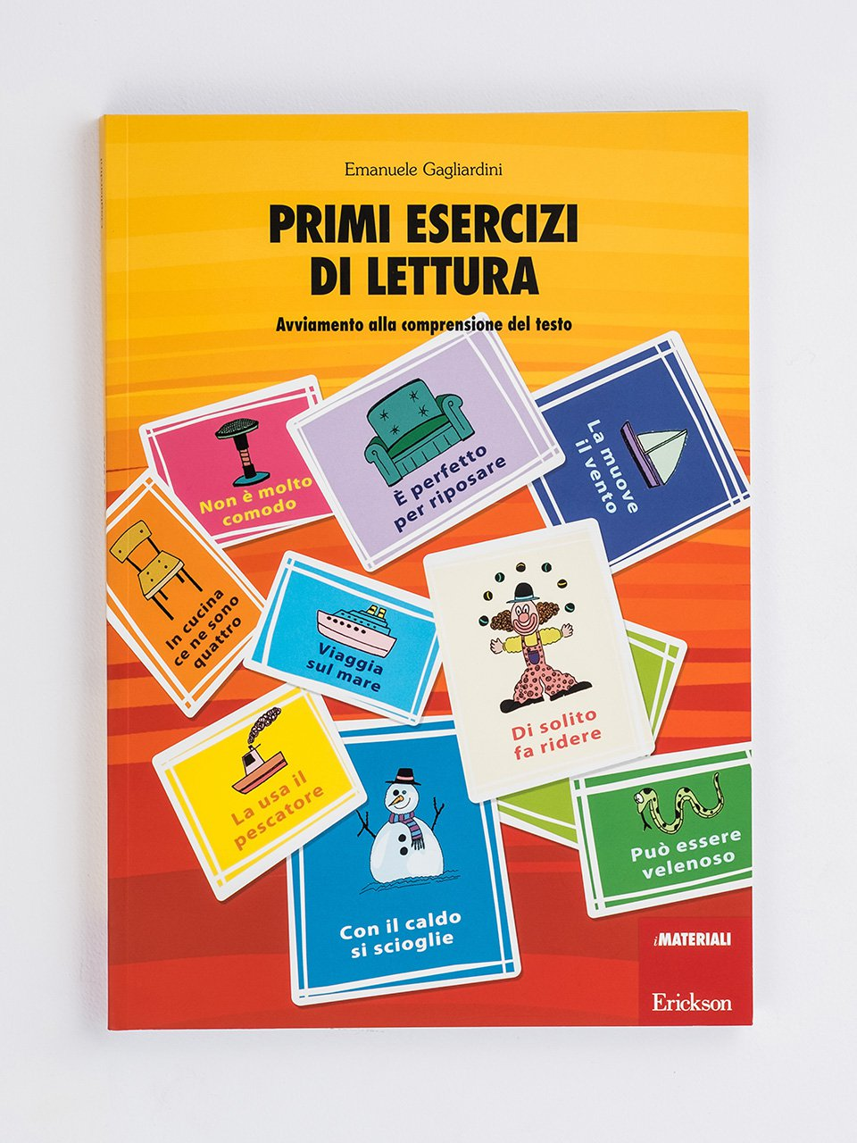 Primi esercizi di lettura - Il mio primo sillabario - Libri - Erickson