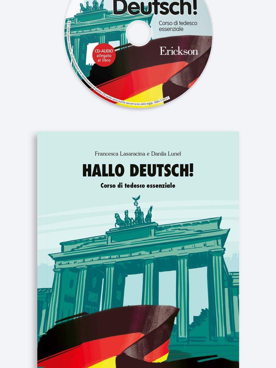 Hallo Deutsch! - Libri - App e software - Erickson 3