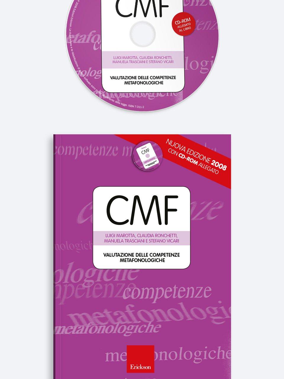 Test CMF - Valutazione delle competenze metafonologiche - Stefano Vicari - Erickson