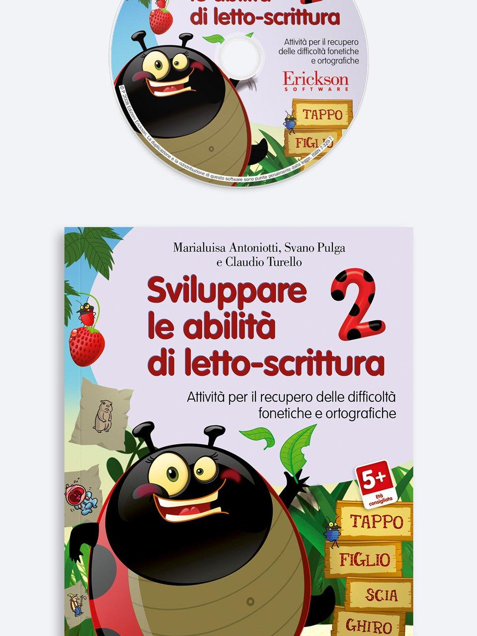 Sviluppare le abilità di letto-scrittura 2 - Le difficoltà ortografiche - Volume 1 - Libri - App e software - Erickson